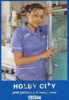 Sharon Maughan Tricia Williams Holby City BBC Rare Hand Signed Photo Cast Card
