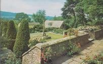 Snowshill Manor Broadway Worcester Outside Gardens Memorial Postcard