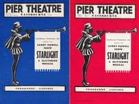 Starlight Sandy Powell Sussex Eastbourne Musical Theatre Programme
