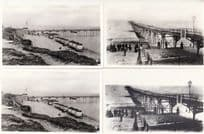 The Bathing Machines Cleethorpes Pier 4x Postcard s
