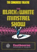 The Black & White Minstrel Show Eastbourne Sussex Theatre Programme