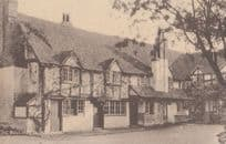 The Bull Hotel Sonning Antique Real Photo Postcard