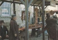 The Butchers Set Location Middlemarch BBC TV Show Stamford Lincolnshire Postcard