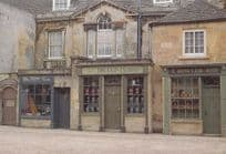 The Chemist Set Location Middlemarch BBC TV Show Stamford Lincolnshire Postcard