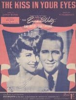 The Kiss In Your Eyes Bing Crosby 1950s Sheet Music