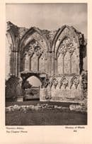 Thornton Abbey Chapter House Lincolnshire Old Postcard
