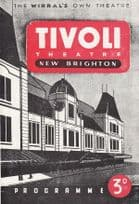 Tivoli Theatre Brighton Sussex Norman Vaughan Theatre Programme