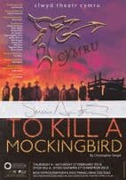To Kill A Mockingbird Simon Armstrong Game Of Thrones Hand Signed Theatre Flyer