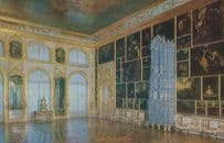 Tower Of Pushkin Catherine Palace Green Dining Room Leningrad Russia Postcard