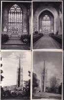 Westgate Louth Lincolnshire Church 4x Real Photo Postcard s