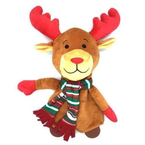Ancol Christmas Happy Rudolph Dog Toy
