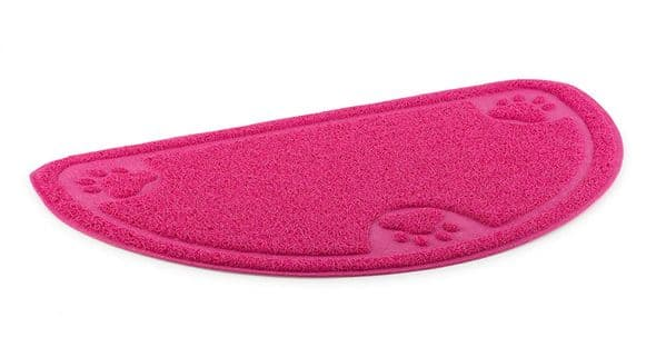 Ancol D- Shaped Dog Feeding Mat - Various colours