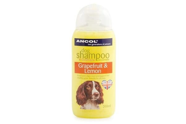Ancol Dog Shampoo Lemon And Grapefruit 200ml