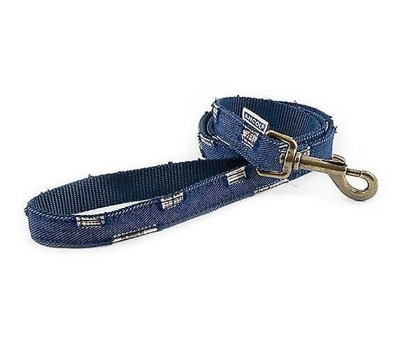 Ancol Patchwork Blue Dog Lead
