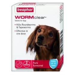 Beaphar WORMclearTreatment for Dogs