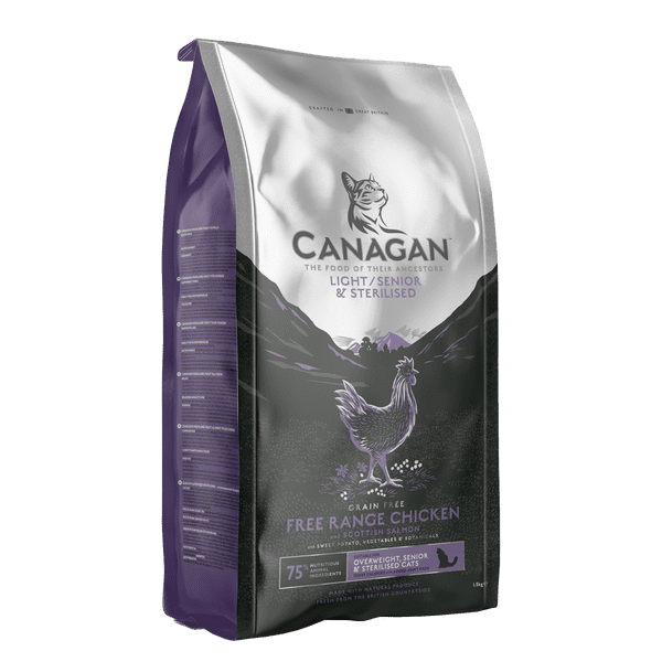 Canagan Light/Senior Kibble For Cats