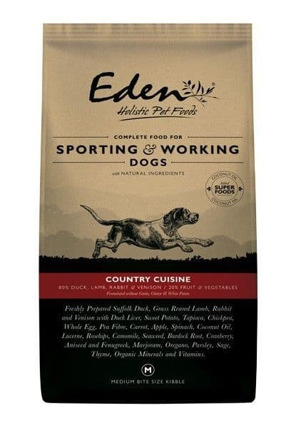 Eden 80/20 Country Cuisine Working & Sporting Dog