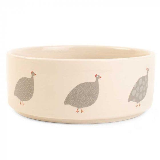 Feathered FriendsCeramic Dog Bowl by Zoon