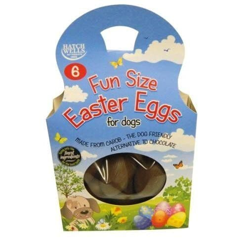 Fun size Easter Eggs For Dogs