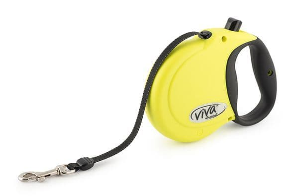 Hi-Vis Viva 5m Retractable Lead