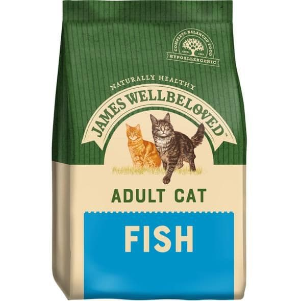 James Wellbeloved Adult Cat Fish Dry Food