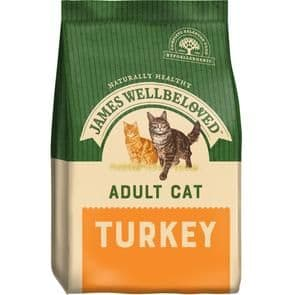 James Wellbeloved Adult Cat Turkey Dry Food