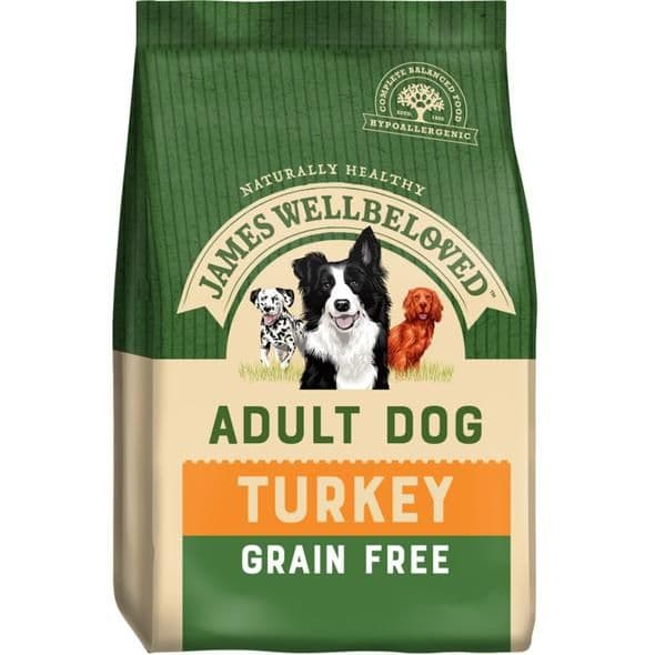 James Wellbeloved Adult Grain Free Turkey & Vegetables