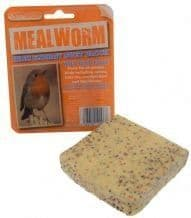 Mealworm Suet Block Bird Feeder