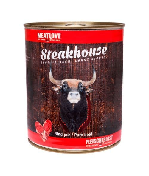 Meatlove Beef  400g Can Wet Dog Food