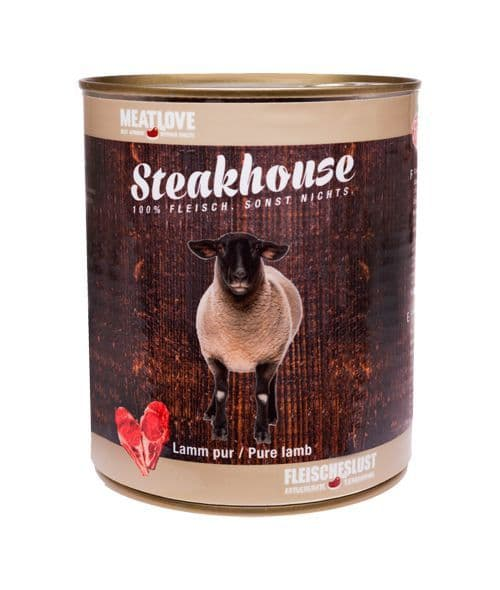 Meatlove Lamb 400g Can Wet Dog Food