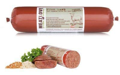 Meatlove Pure Lamb Single Protein Food Chub Rolls for Dogs