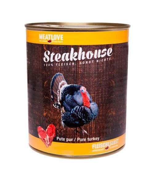 Meatlove Turkey 400g Can Wet Dog Food