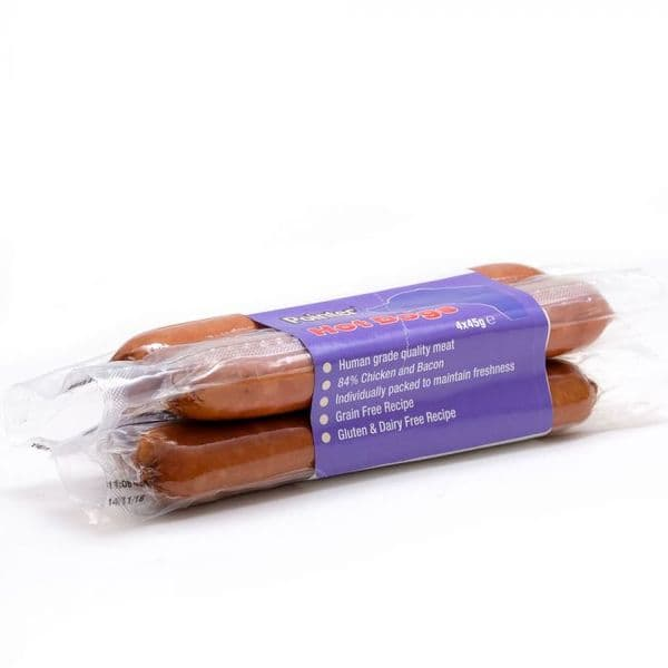 Pointer Hot Dogs 4 pack