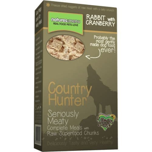 Rabbit with Cranberry Superfood Crunch 700g Pack