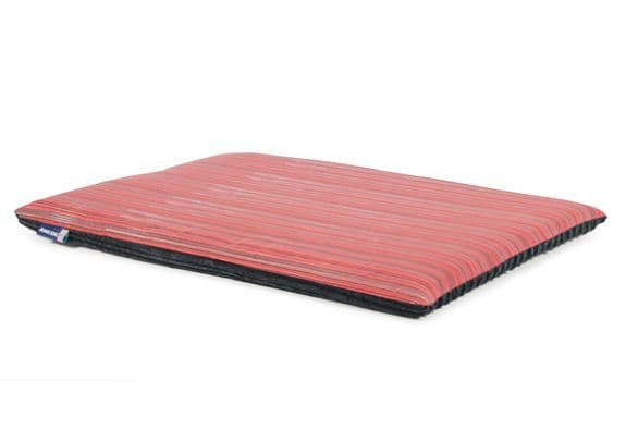 Red Stripe /Grey Cord Flat Pad