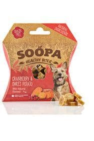 Soopa Cranberry & Sweet Potato Healthy Dog Bites