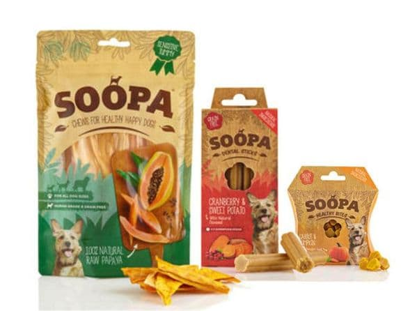 Soopa Variety Pack Dog Treats -1