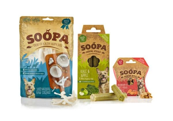 Soopa Variety Pack Dog Treats -3