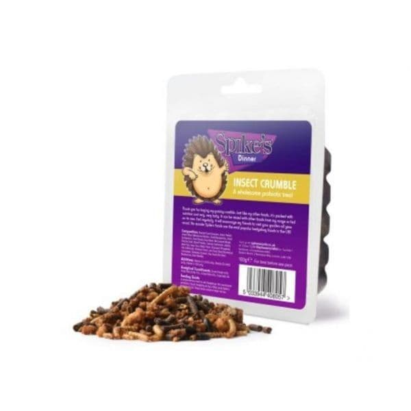 Spike's Insect Crumble Hedgehog Food