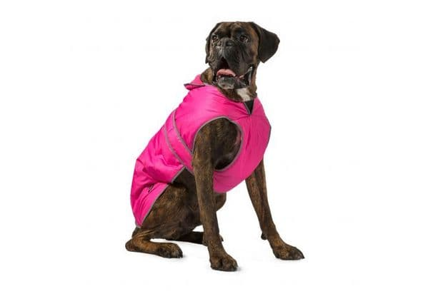 Stormguard Pink  Waterproof Dog Coat
