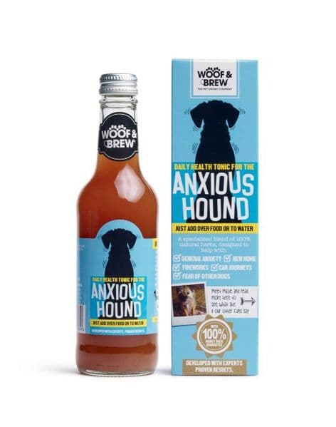 Woof & Brew Anxious Hound Dog Tonic