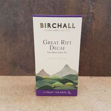Birchall DECAF Prism Tea Bags 15