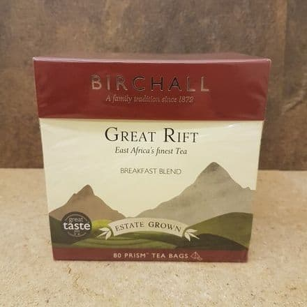 Birchall English Breakfast Prism Tea Bags 80 (Big Box)
