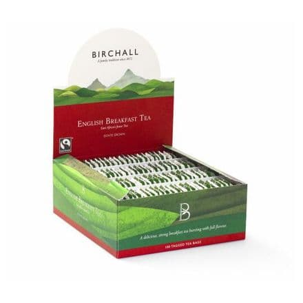 Birchall English Breakfast Tagged Tea Bags 100