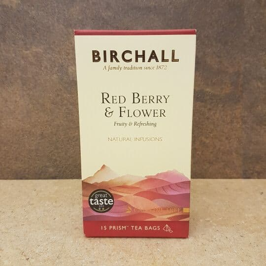 Birchall Red Berry Infusion Prism Tea Bags 15