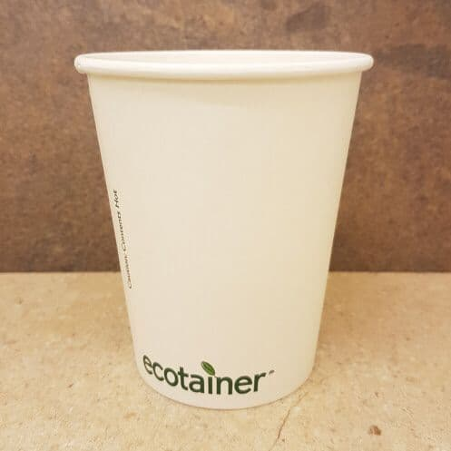 Compostable 12oz Ecotainer Paper Cups x 500