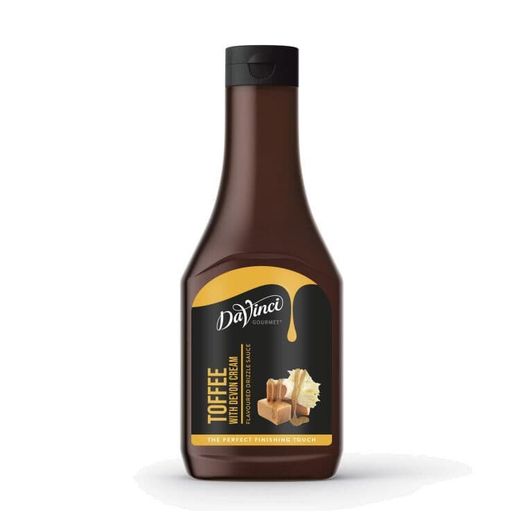 DaVinci Toffee Flavoured Sauce Topping 500g