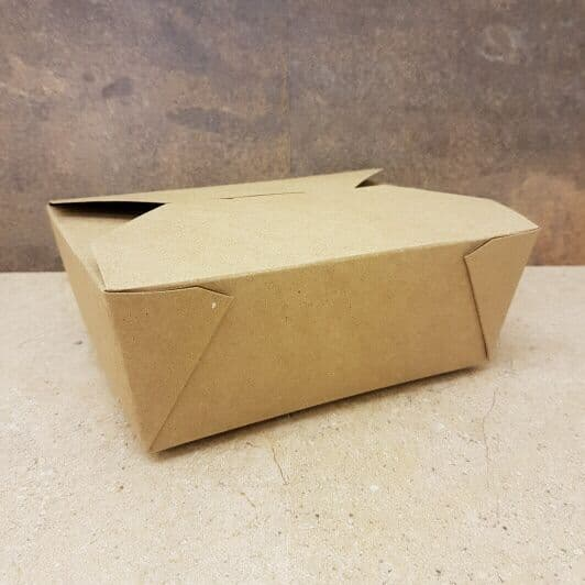 Food Carton Box - Medium #8 - 100 Pack