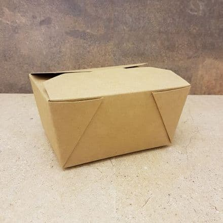 Food Carton Box - Small #1 - 100 Pack