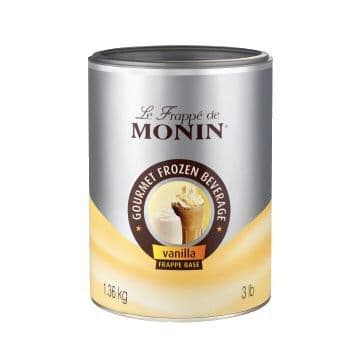 Monin Vanilla Frappe Powder 1.36kg
